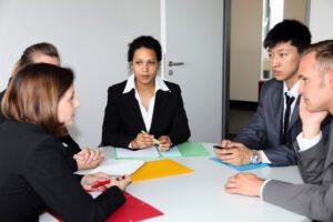 team of businesspeople